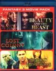 BEAUTY AND THE BEAST + LOST COLONY + SINDBAD MINOTAUR Blu-ry