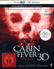 CABIN FEVER TRILOGIE 1-3 - 3x Blu-ray 3D BOX uncut