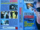 Freedom Strike ... Michael Dudikoff  ... VHS !!!