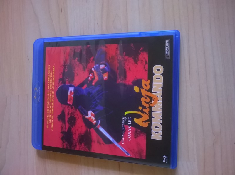 Cinema Treasures: Ninja Kommando-Blu-ray
