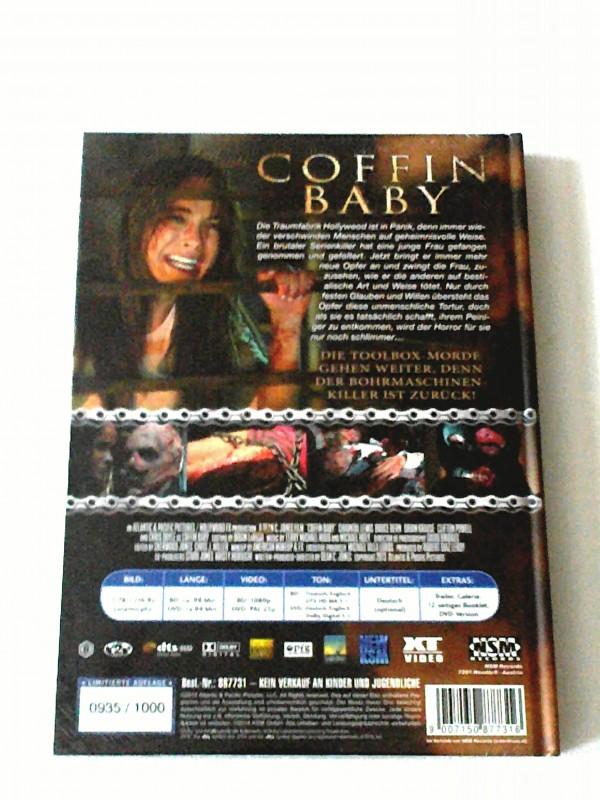 COFFIN BABY(TOOLBOX MÖRDER IS BACK )MEDIABOOK OVP!! UNCUT