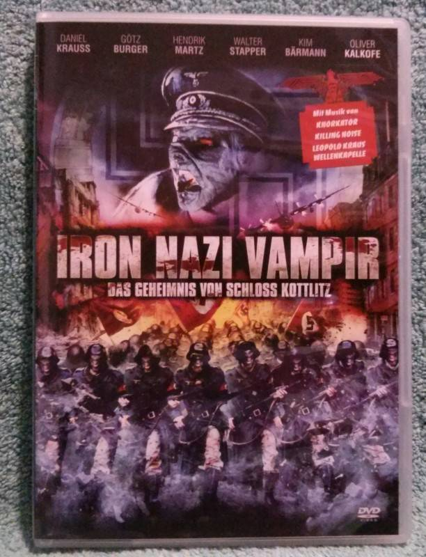 Iron Nazi Vampir DVD uncut Oliver Kalkofe (R)