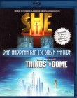 SHE + THINGS TO COME Blu-ray- Ray Harryhausen Double Feature