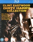 DIRTY HARRY COLLECTION 5x Blu-ray 1-5 Clint Eastwood uncut