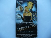Game Out ... Eddie Constantine, Mylene Remongeot ... VHS