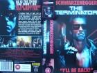 The Terminator ... Arnold Schwarzenegger  ... engl. VHS