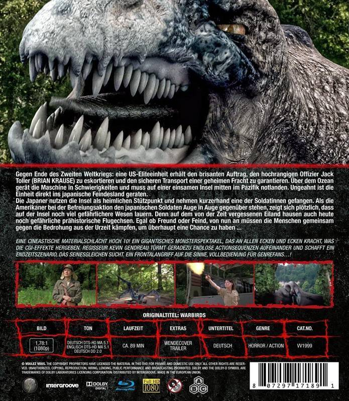 Mega-Raptor Vs. Humans [Blu-ray] OVP
