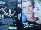 Was Frauen wollen ... Mel Gibson, Helen Hunt  ...  VHS !!