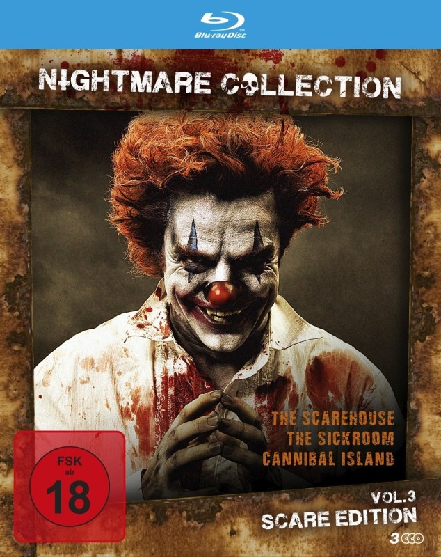 Nightmare Collection 3 BR - Horror - NEU - OVP
