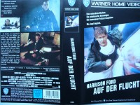 Auf der Flucht ... Harrison Ford, Tommy Lee Jones ...  VHS