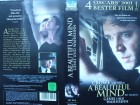 A Beautiful Mind ... Russell Crowe, Ed Harris ...  VHS !!!