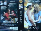 Tin Cup ... Kevin Costner, Rene Russo  ...  VHS !!!
