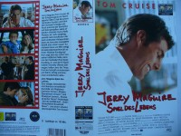 Jerry Maguire - Spiel des Lebens ... Tom Cruise  ...   VHS