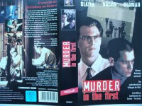 Murder in the First ... Christian Slater, Kevin Bacon .. VHS