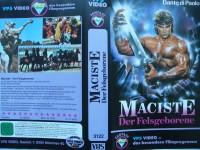 Maciste - Der Felsgeborene ... Dante di Paolo ...  VHS !!!