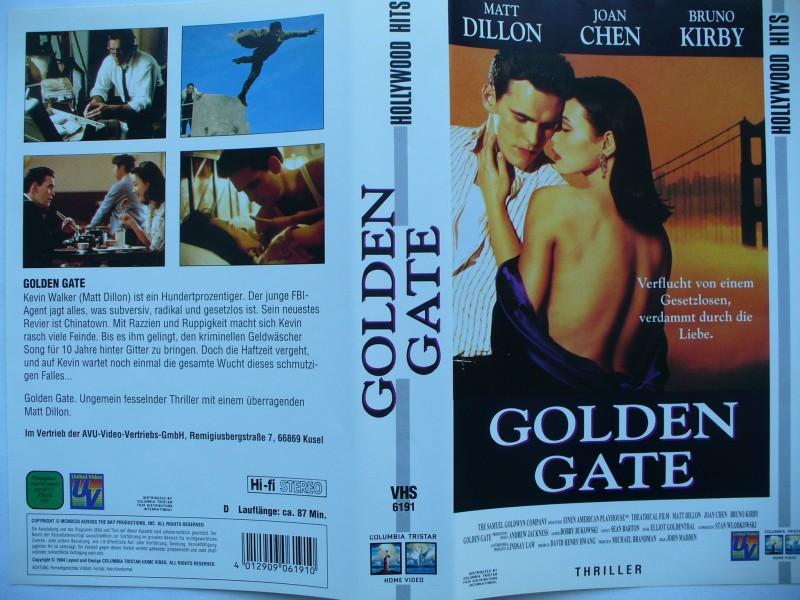 Golden Gate ... Matt Dillon, Joan Chen, Bruno Kirby ...  VHS
