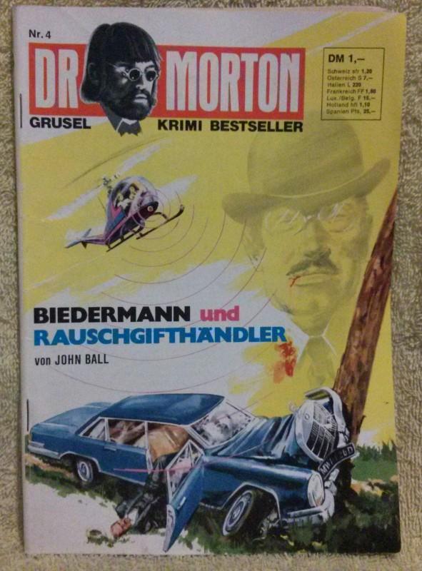 Dr. Morton Nr. 4 Romanheft Erstausgabe