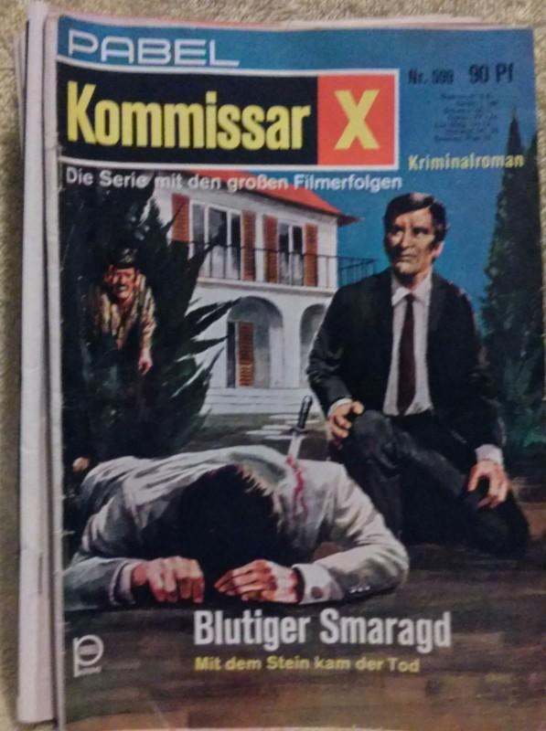Kommissar X  Romanheft Erstausgabe