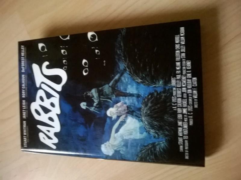 Rabbits-große Hartbox-DVD