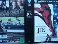 JFK - Tatort Dallas ... Kevin Costner, Kevin Bacon ...  VHS