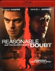 REASONABLE DOUBT Blu-ray - Dominic Cooper Samuel L. Jackson