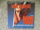 Hard Target (Harte Ziele) UK Laserdisc LD