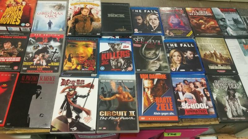 46x Uncut DVDs und Blu Rays Rohnstock,Ittenbach,John Woo....