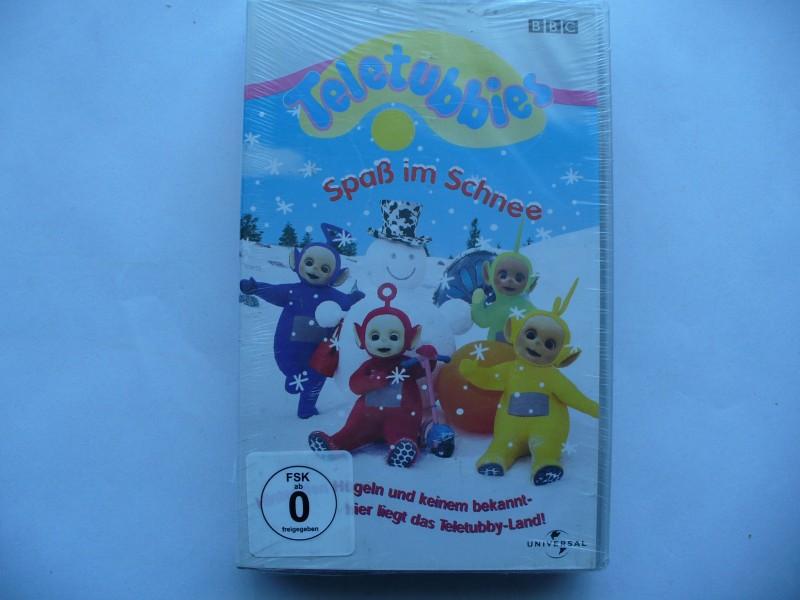 Teletubbies - Spaß im Schnee  ...  VHS !!  OVP !!!