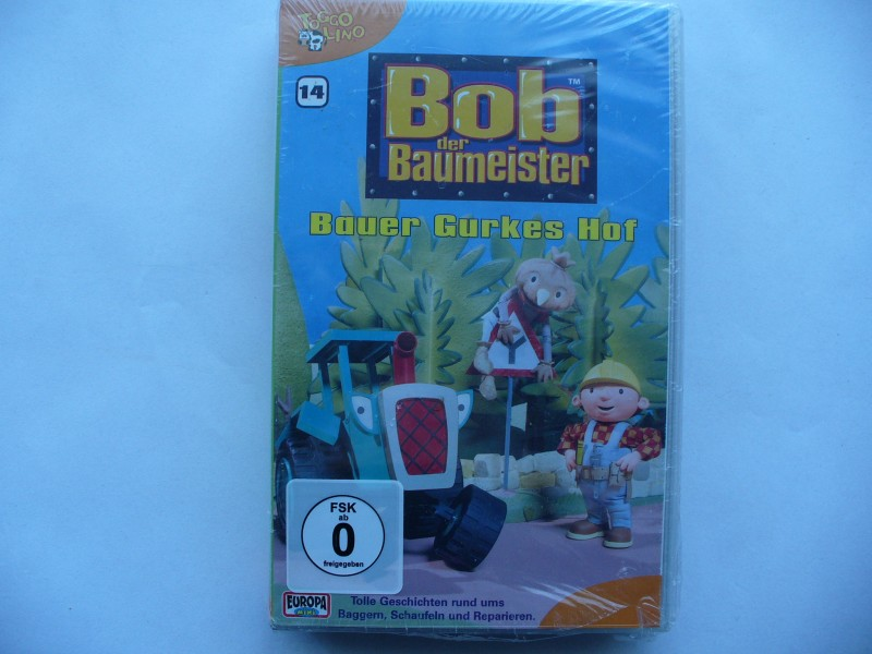 Bob der Baumeister - Bauer Gurkes Hof ... VHS !!!   OVP !!!