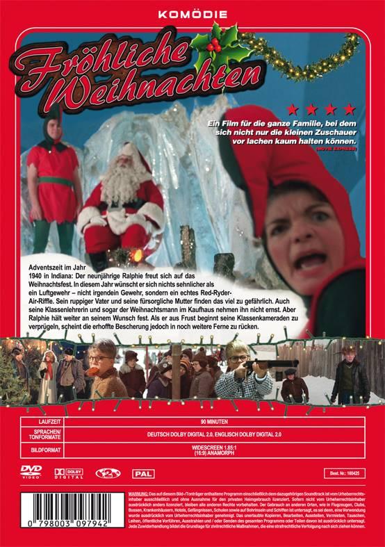Frohe Weihnachten Film.Fröhliche Weihnachten A Christmas Story Deutscher Ton Dvd