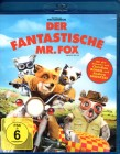 DER FANTASTISCHE MR. FOX Blu-ray - Animation Meisterwerk