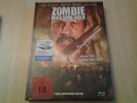 Zombie invasion war-mediabook (3d)neu ovp!