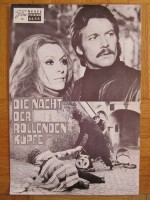 Die Nacht der rollenden Köpfe , NeuesFilmprogramm, Giallo