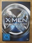 X- Men Quadrilogy 4x DVD Bix X MEN, Alle 4 Teile Comicfilm