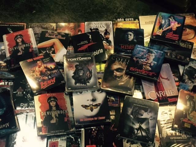 100 Spielfilme in Metallboxen & Steelcases !!! ab € 1,00