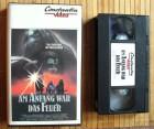 Am Anfang war das Feuer - VHS Erstauflage Constantin 1982