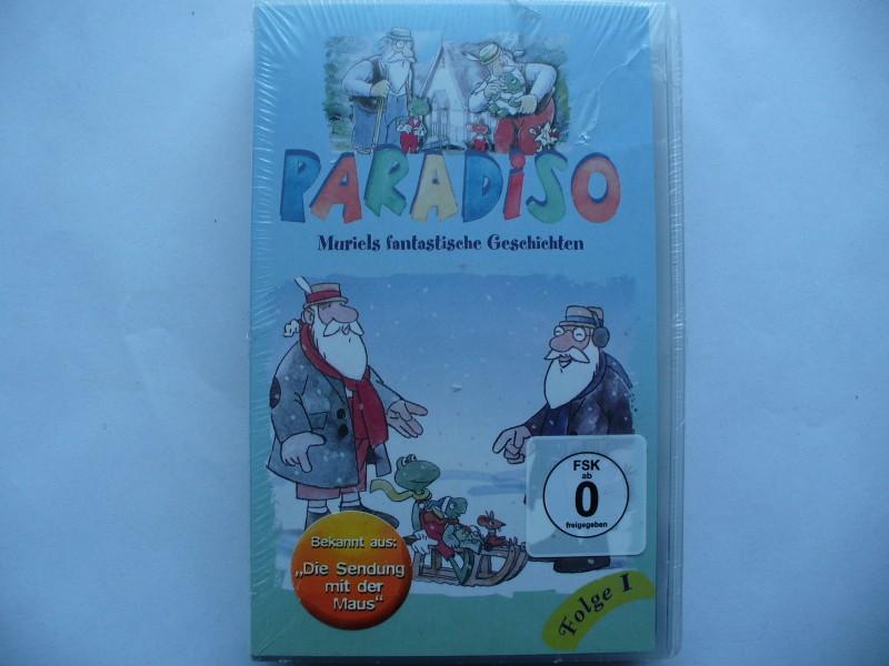 Paradiso - Muriels fantastische Geschichten ... VHS !  OVP !