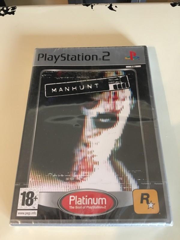 PS2 Spiel MANHUNT Rockstargames NEU Kein PS4 GTA