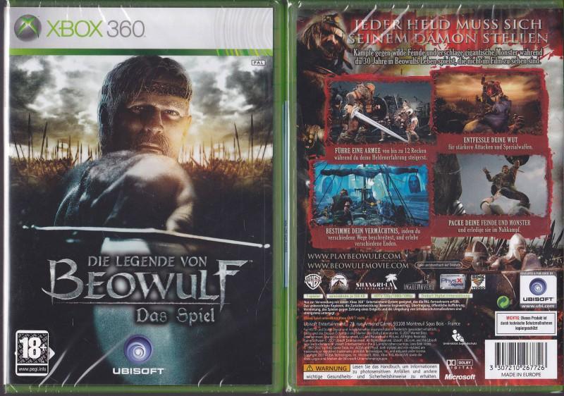 Die Legende von Beowulf Uncut XBOX360  Neuware