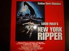 New York Ripper Laserdisc Topzustand