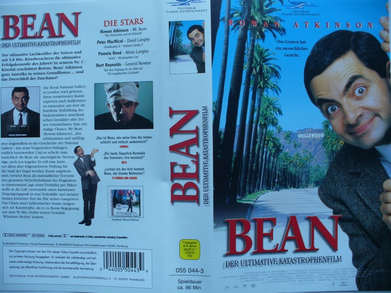 Bean - Der Ultimative Katastrophenfilm  ...  VHS !!!