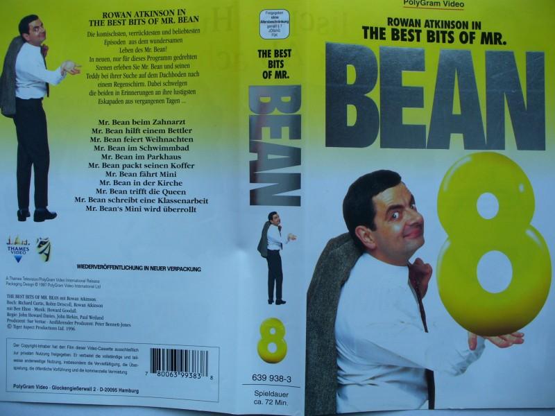 Bean - The Best Bits of Mr. Bean 8  ...  VHS !!!