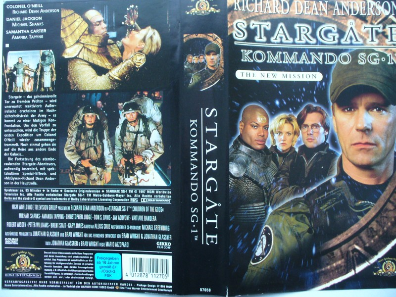 Stargate Kommando SG 1 - The New Mission  ...  VHS !!!