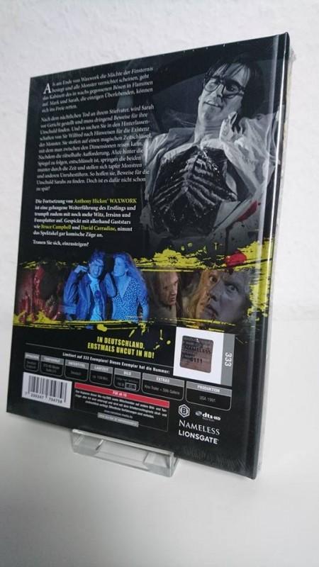 Waxwork 2 Cover B Mediabook 111/333 Sondernummer