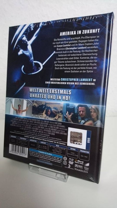 Fortress Cover C Mediabook 111/999 Sondernummer