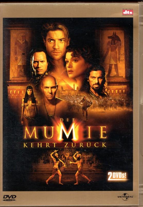 DIE MUMIE KEHRT ZURÜCK 2 DVD-Set im goldenen Amaray