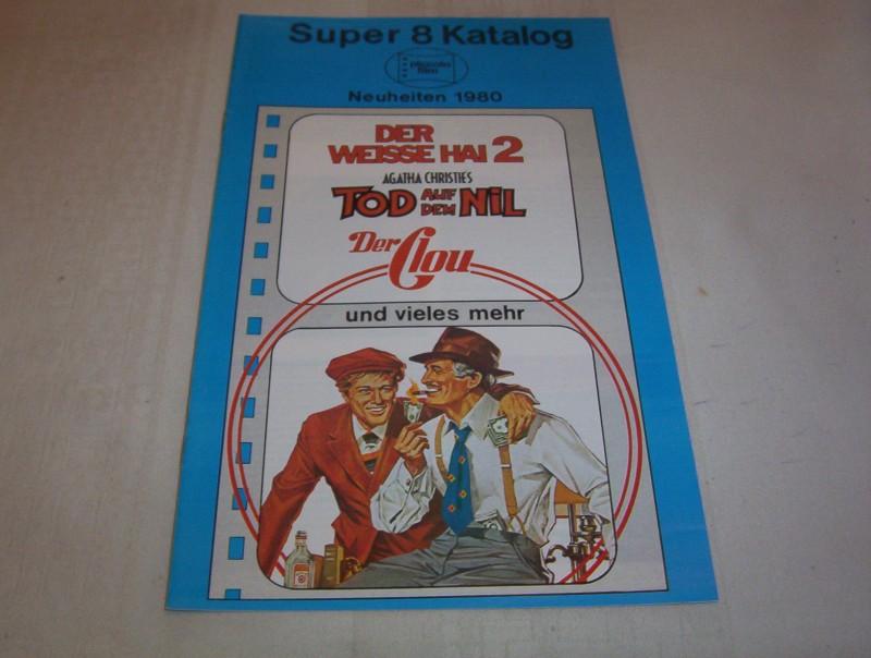Super 8 Katalog Piccolo Film 1980  8 Seiten