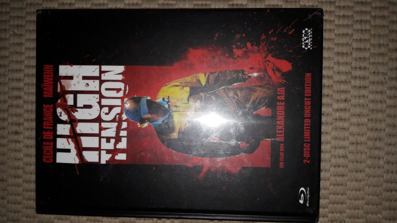 High Tension Mediabook Cover A Neu Ovp OOP!!!!