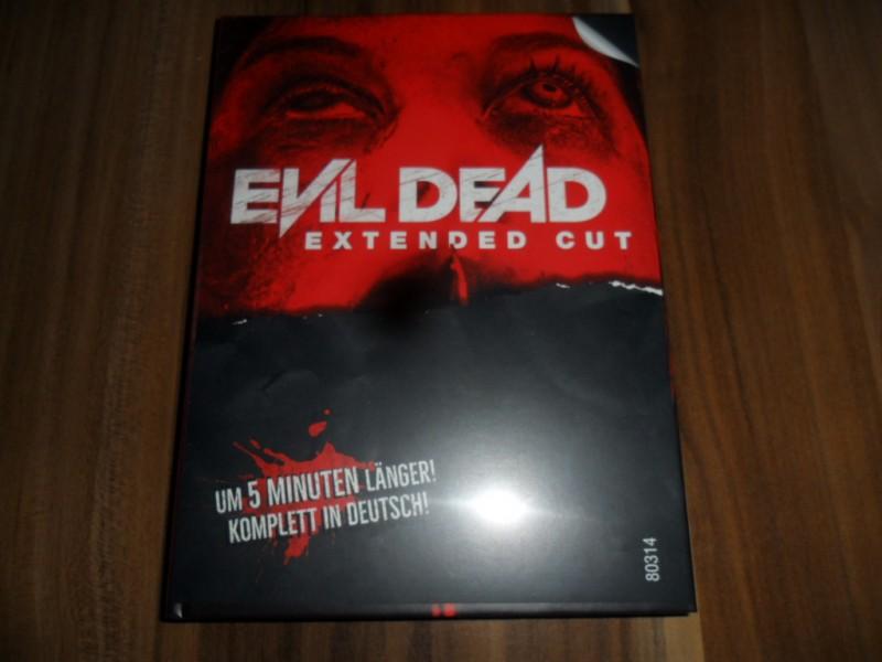 Evil Dead Extended Cut Mediabook B Blu-Ray Ovp