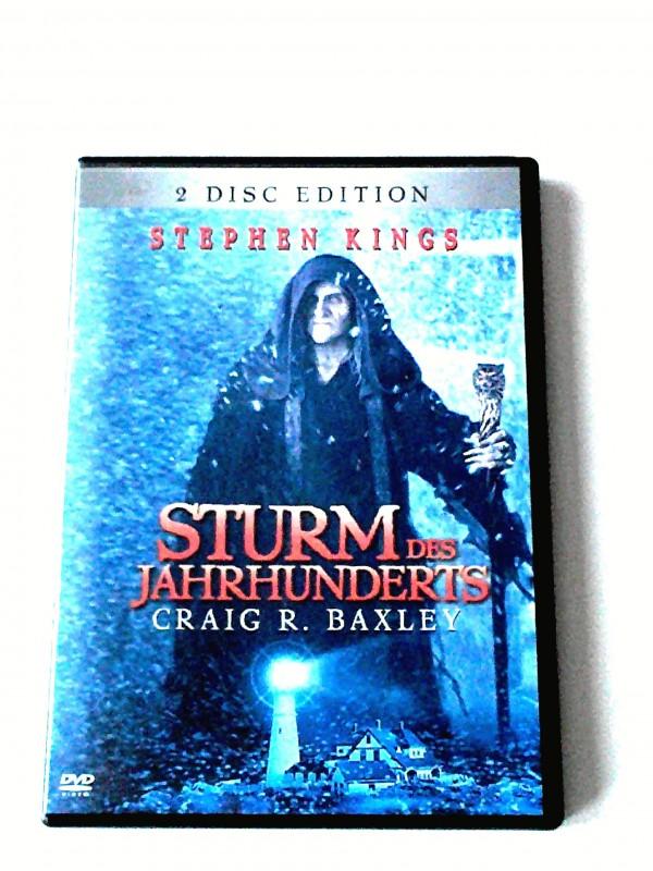 STURM DES JAHRHUNDERTS (STEPHEN KING) 2 DISC - UNCUT